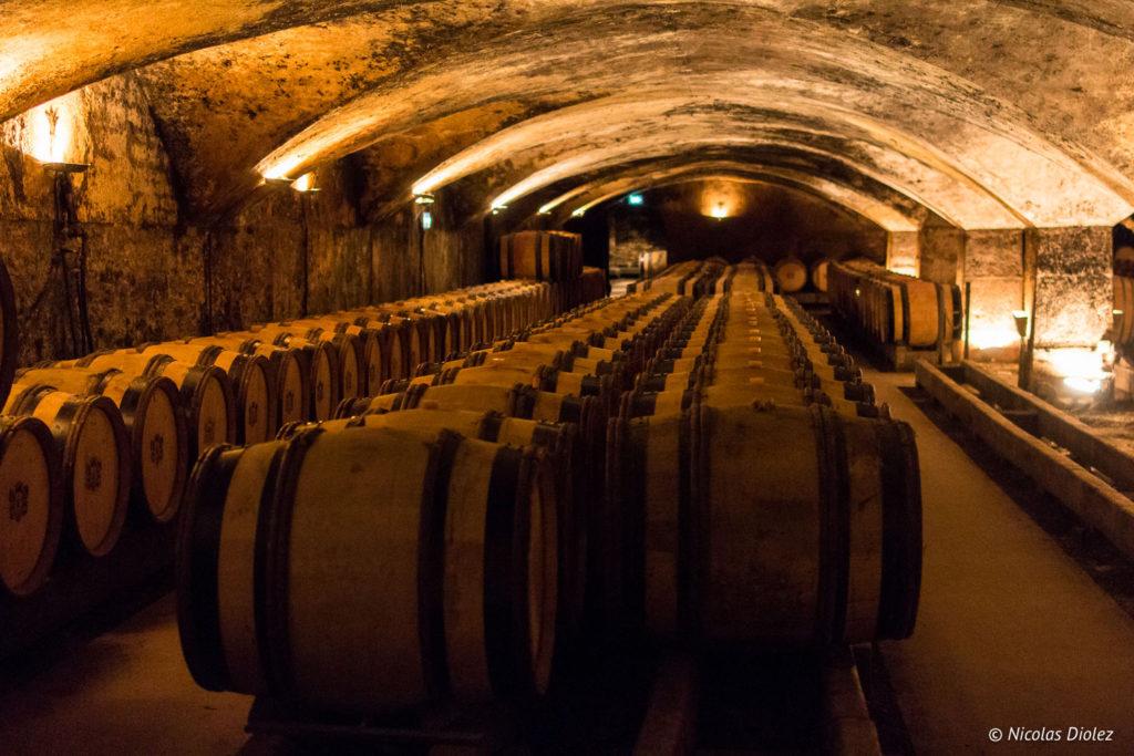 cave voûtée Château de Meursault