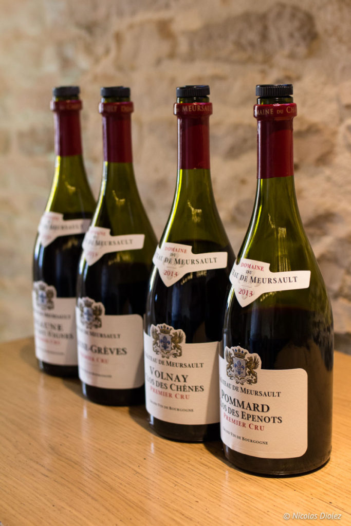 bouteilles Château de Meursault