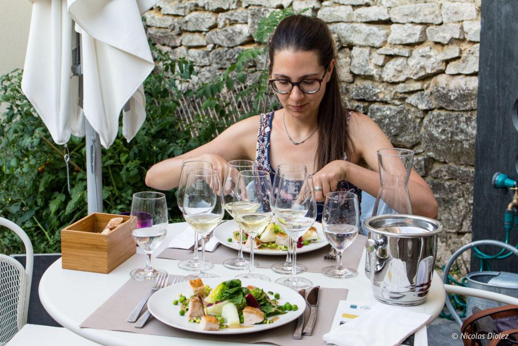 Melle Bon Plan restaurant Olivier Leflaire Puligny-Montrachet