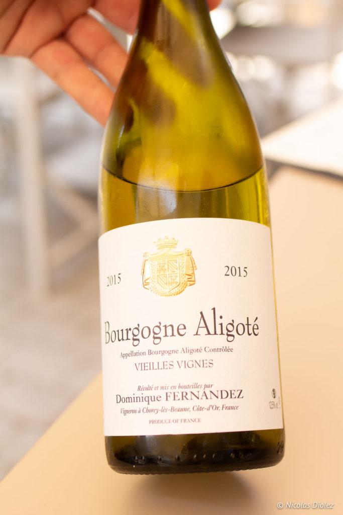 Bouteille Bourgogne Aligoté