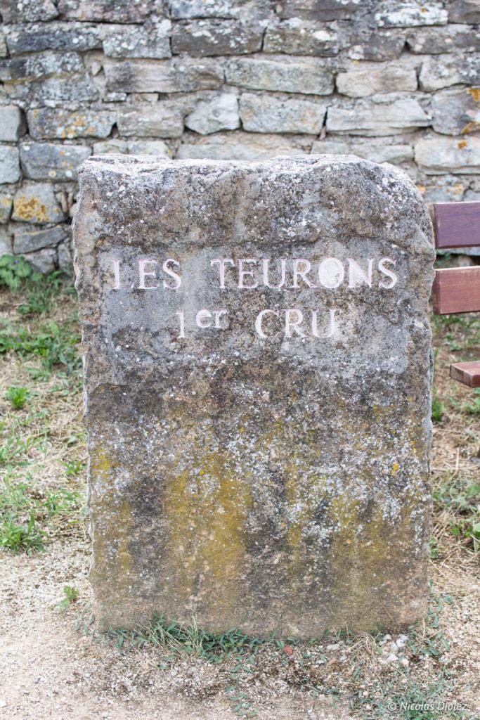 Stèle Ecole des Vins de Bourgogne Beaune