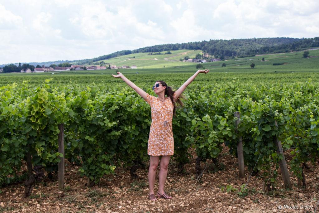 Melle Bon Plan Vignes Bourgogne Beaune