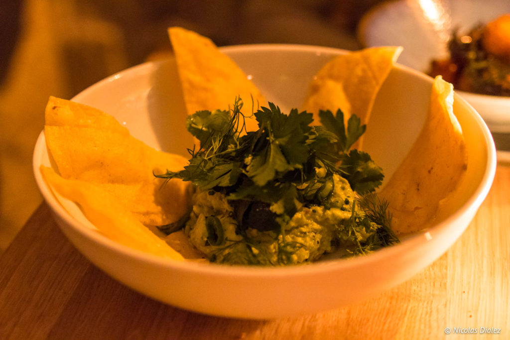 guacamole Bar de Biondi Paris