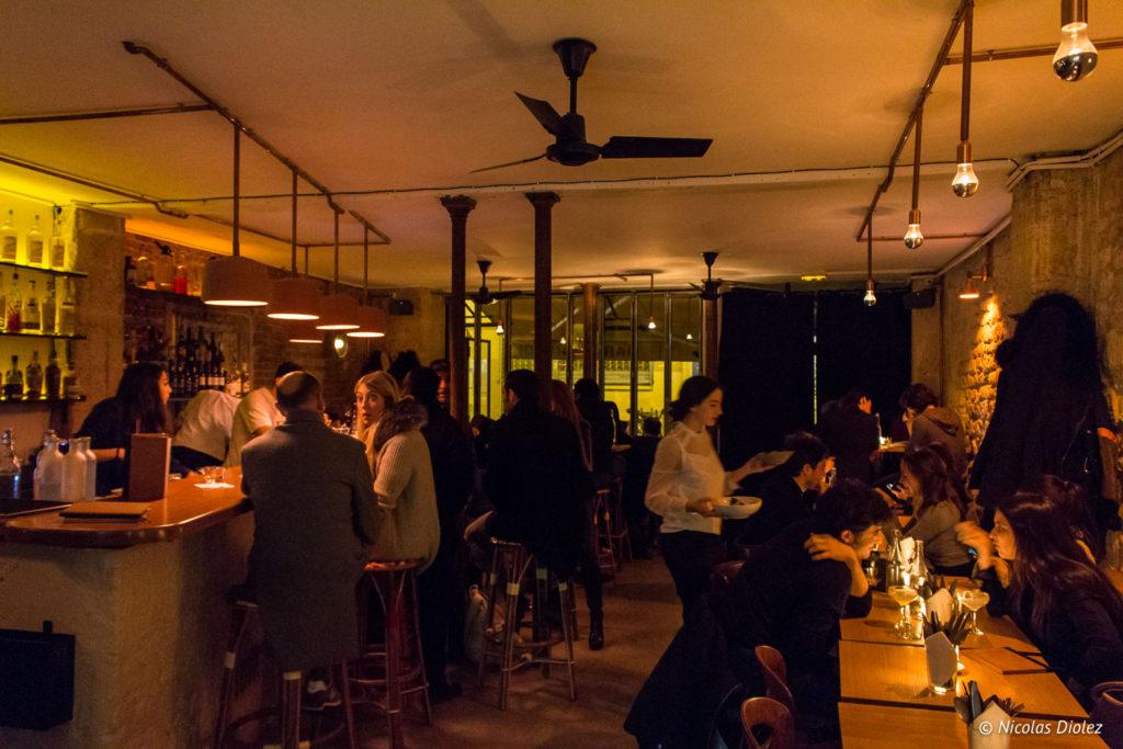 salle Bar de Biondi Paris