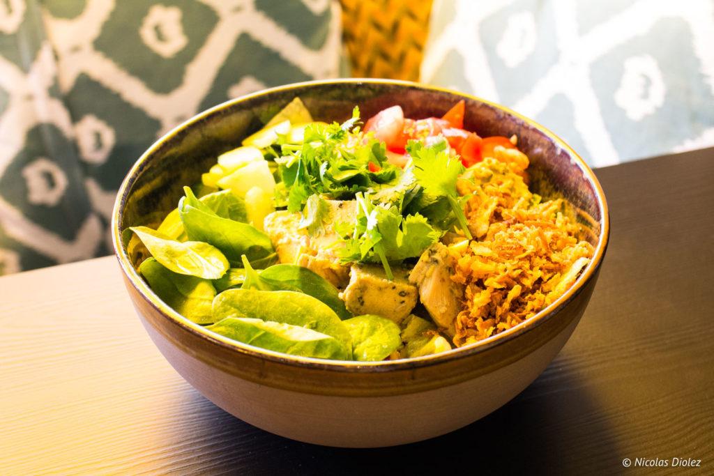 salade Djawa Valmy