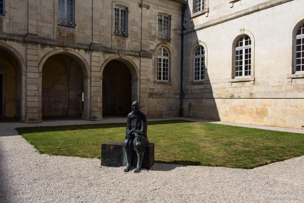 sculpture Abbaye d'Auberive