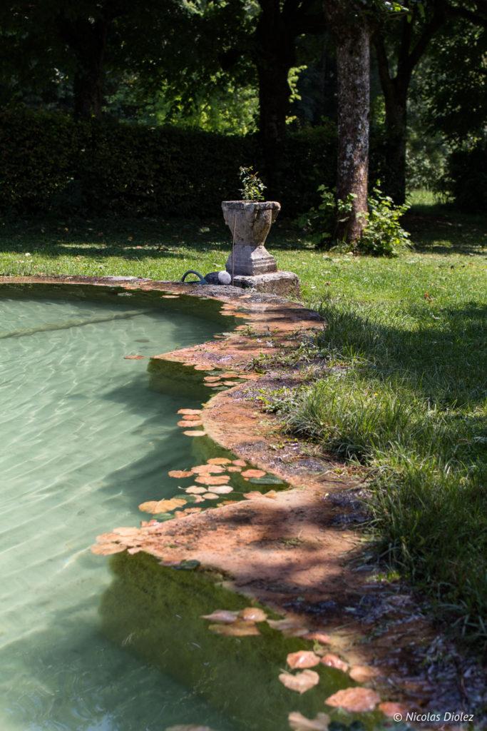 bassin eau Jardin de Silière Cohons