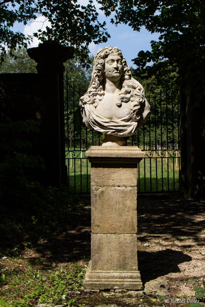 Buste Jardin de Silière Cohons