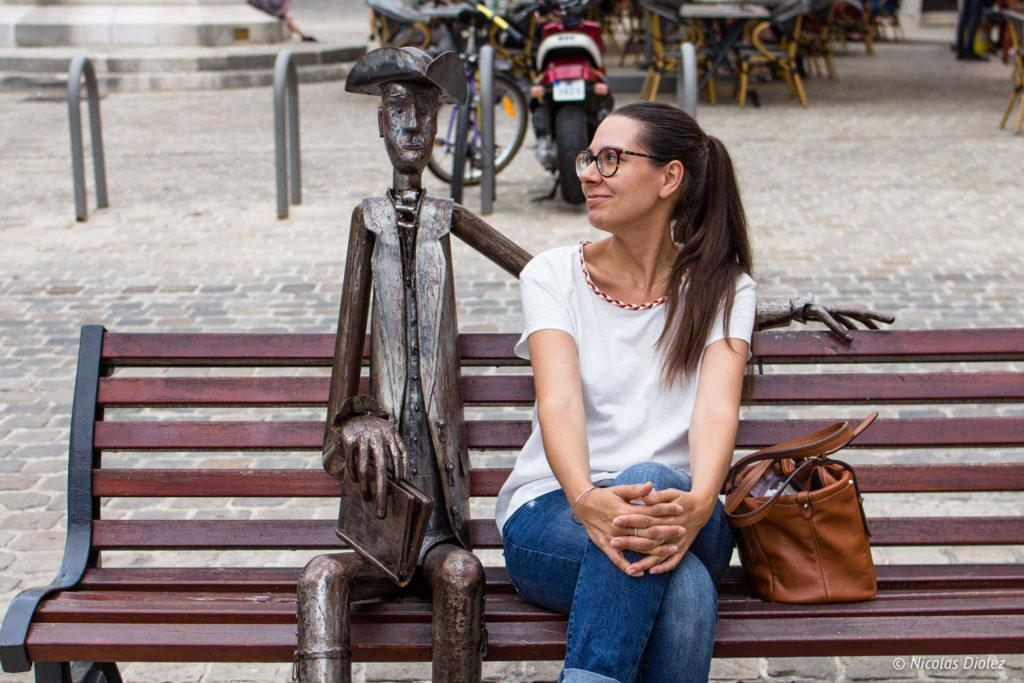 statue diderot Langres Melle Bon Plan