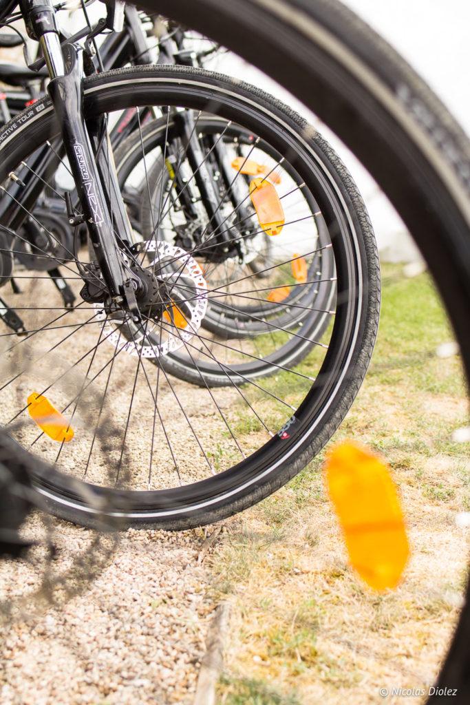 roues vélos Bourgogne Evasion