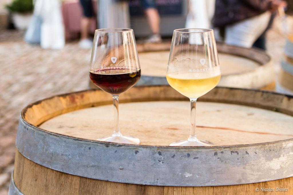 verres vin Festival Rootstock Pommard