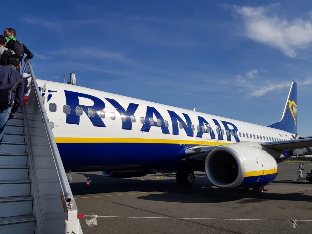 avion Ryanair Beauvais