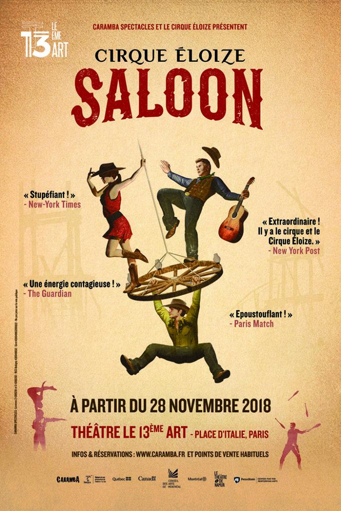 Saloon duCirque Eloize