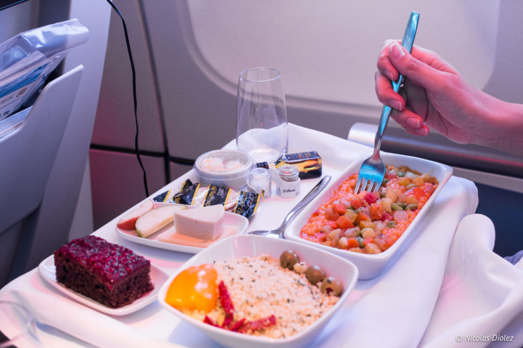 Avion Air Transat classe club