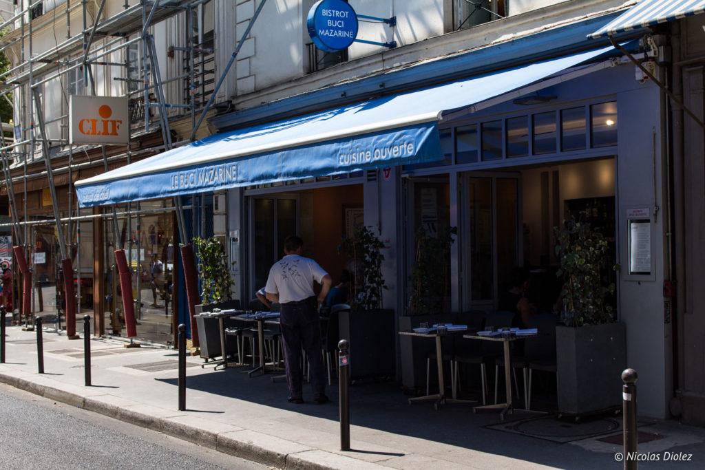 Façade Bistrot Buci Mazarine Paris