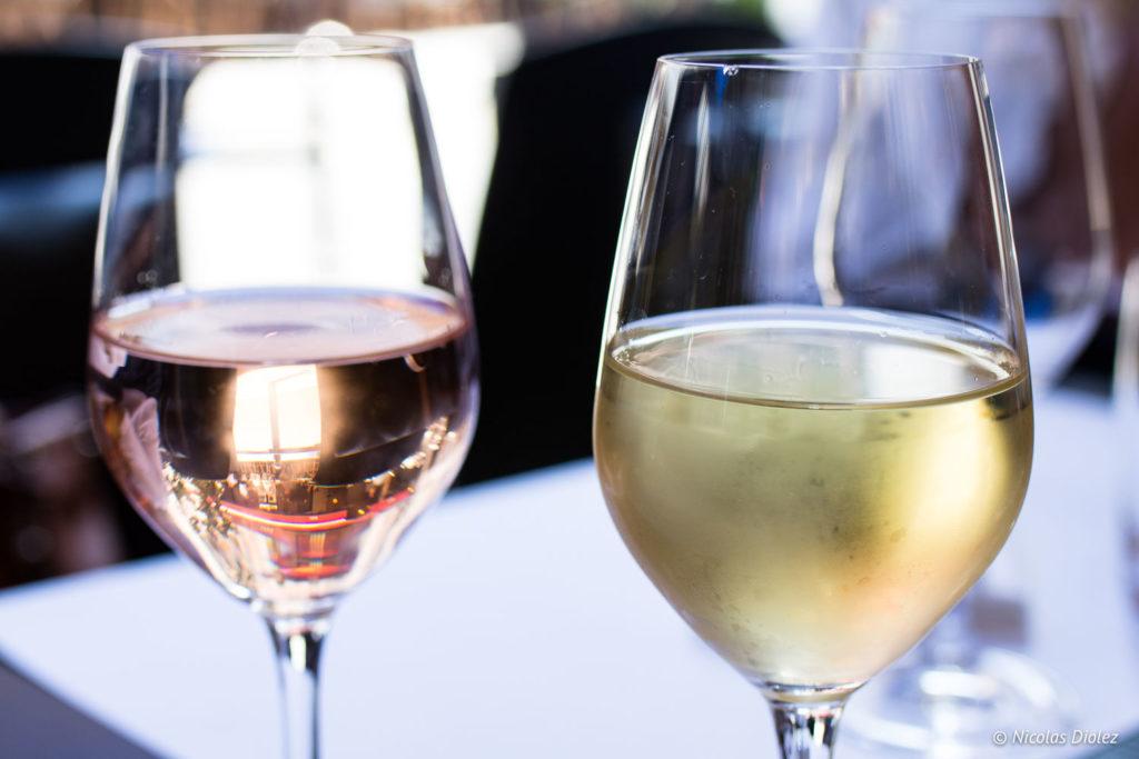 verres de vin Bistrot Buci Mazarine Paris