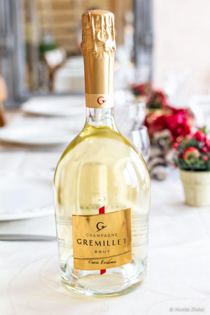 cuvée Evidence Champagne Gremillet