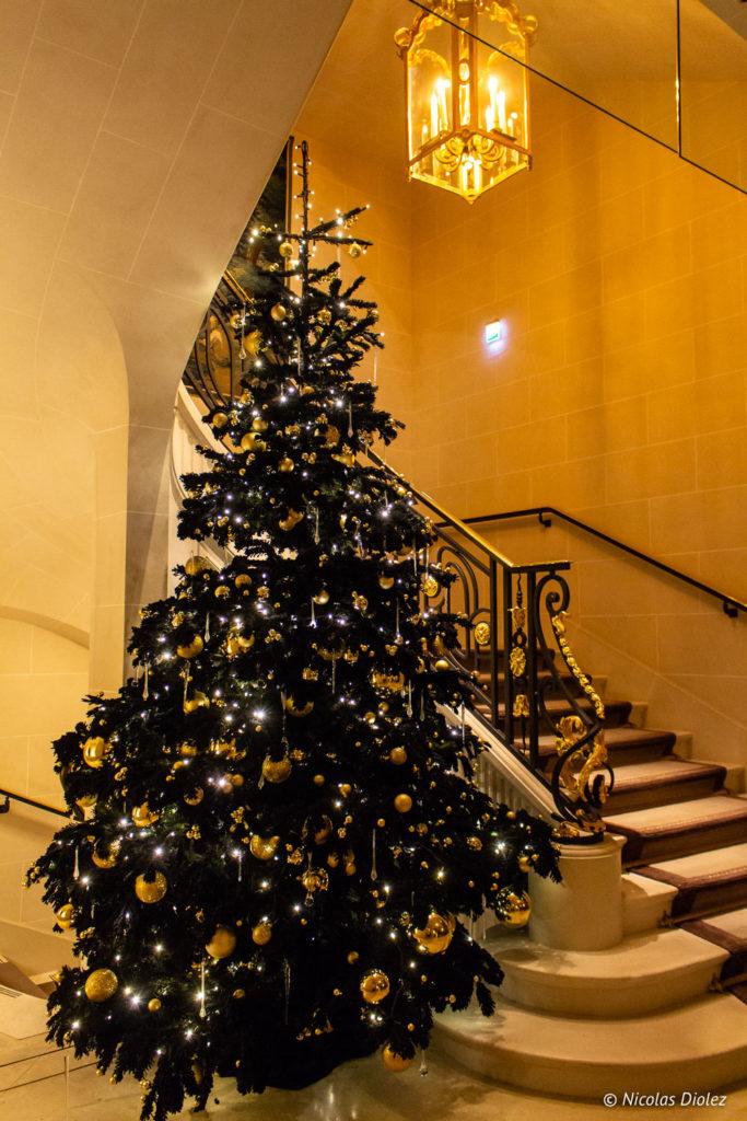 Noël hôtel Crillon Paris