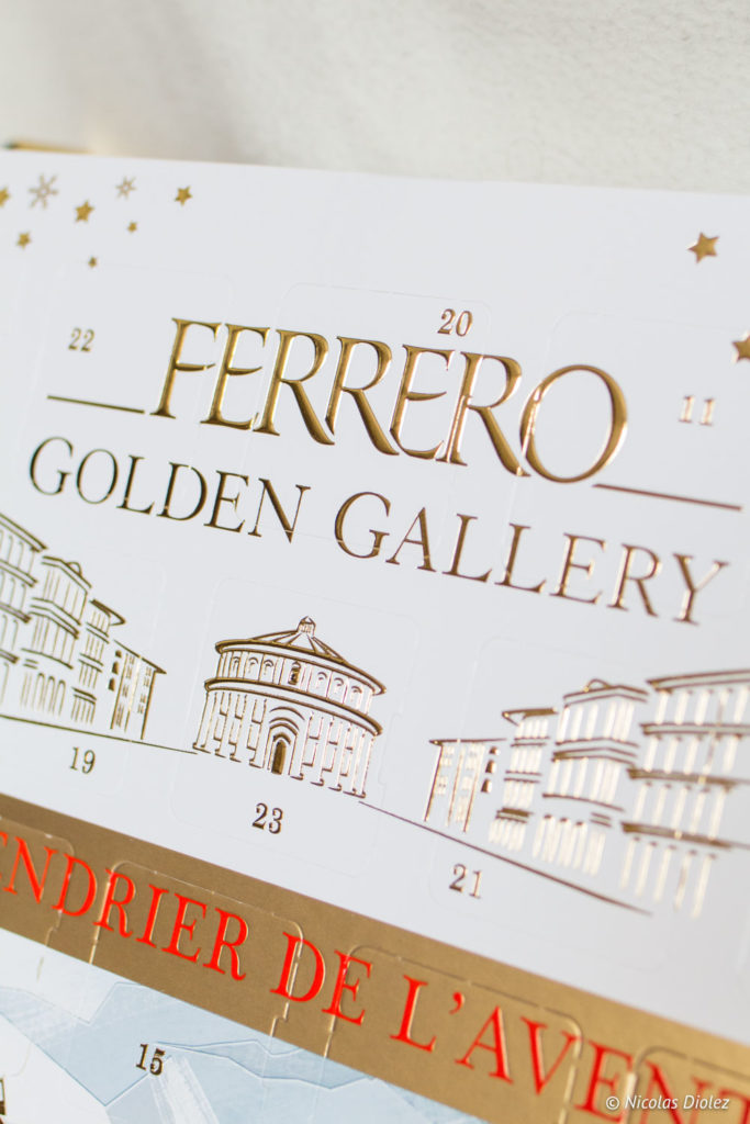 Calendrier de l'Avent Ferrero