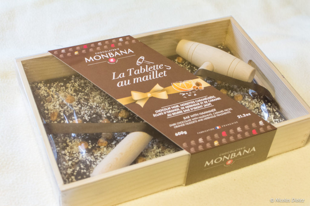 Monbana chocolat noël