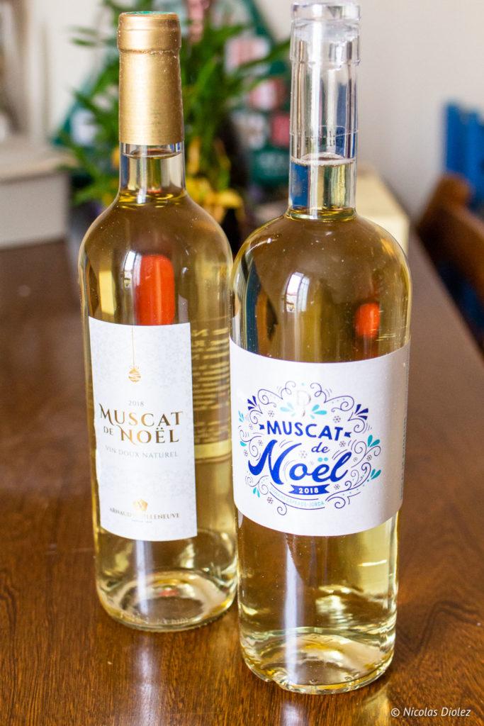 Muscats de noël - DR Nicolas Diolez 2018