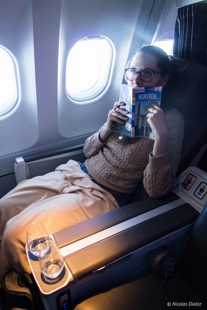 Avion Air Transat classe club - DR Nicolas Diolez 2018