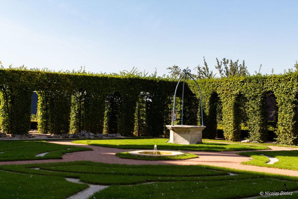 jardins Abbaye Saint-Georges de Boscherville