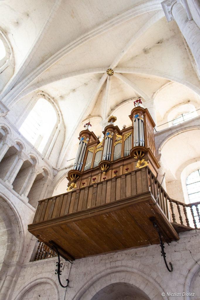 orgue Abbaye Saint-Georges de Boscherville