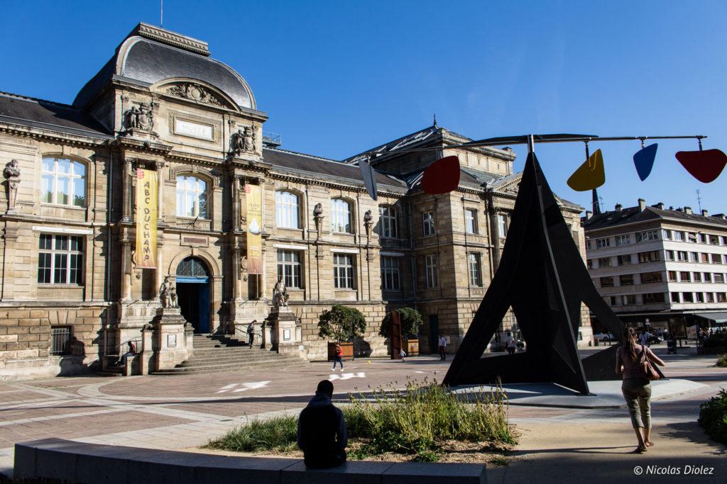 façade Musée des beaux-arts de Rouen