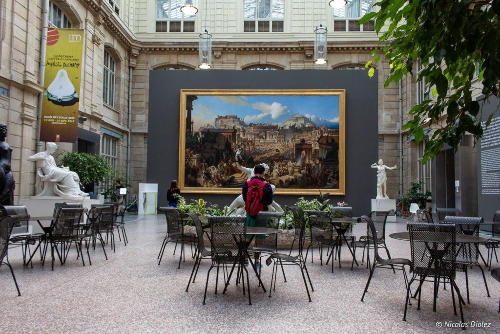 café Musée des beaux-arts de Rouen
