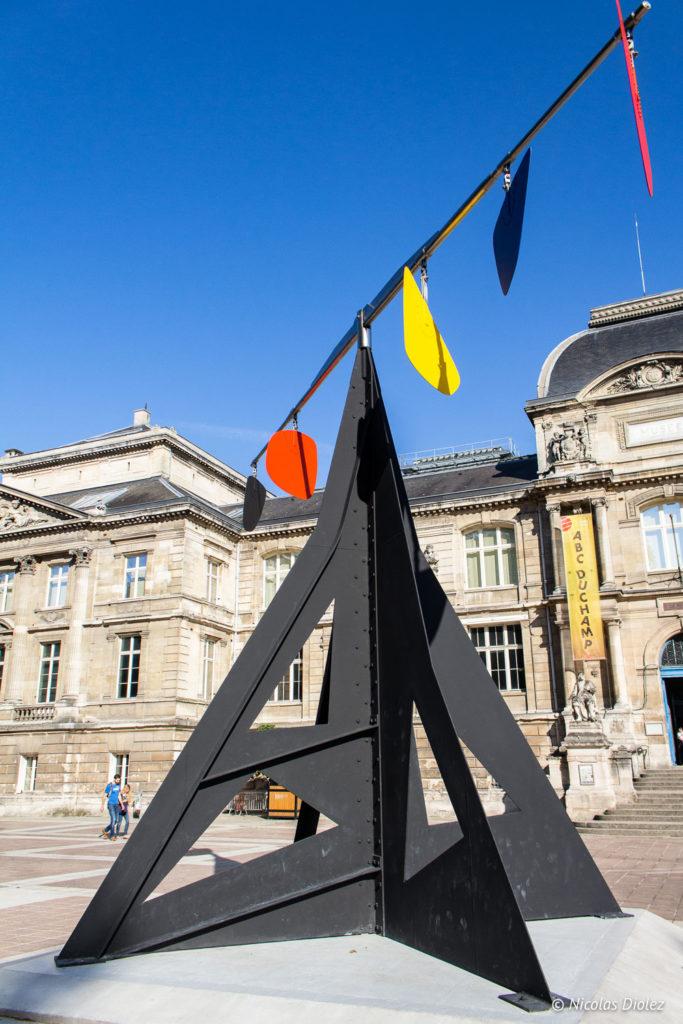 Pendule Calder Musée des beaux-arts de Rouen