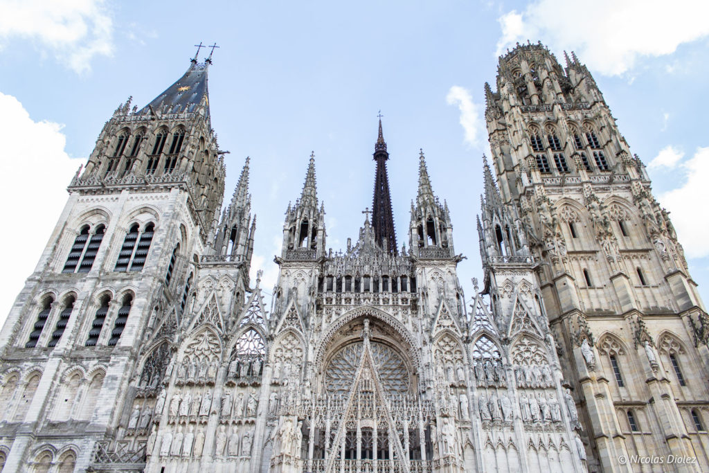 façade cathédrale Rouen