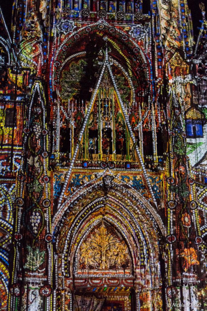 Spectacle Lumières cathédrale Rouen