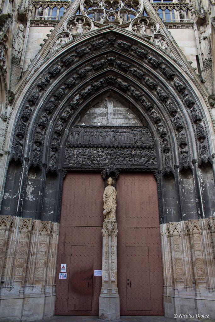 portail cathédrale Rouen