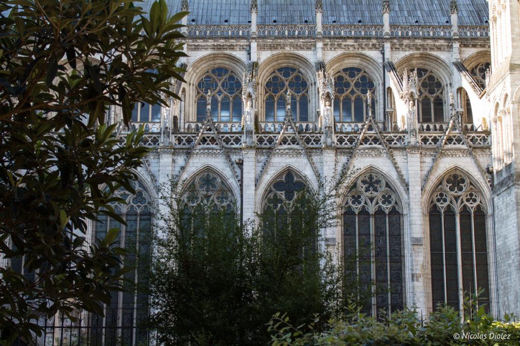 côté cathédrale Rouen