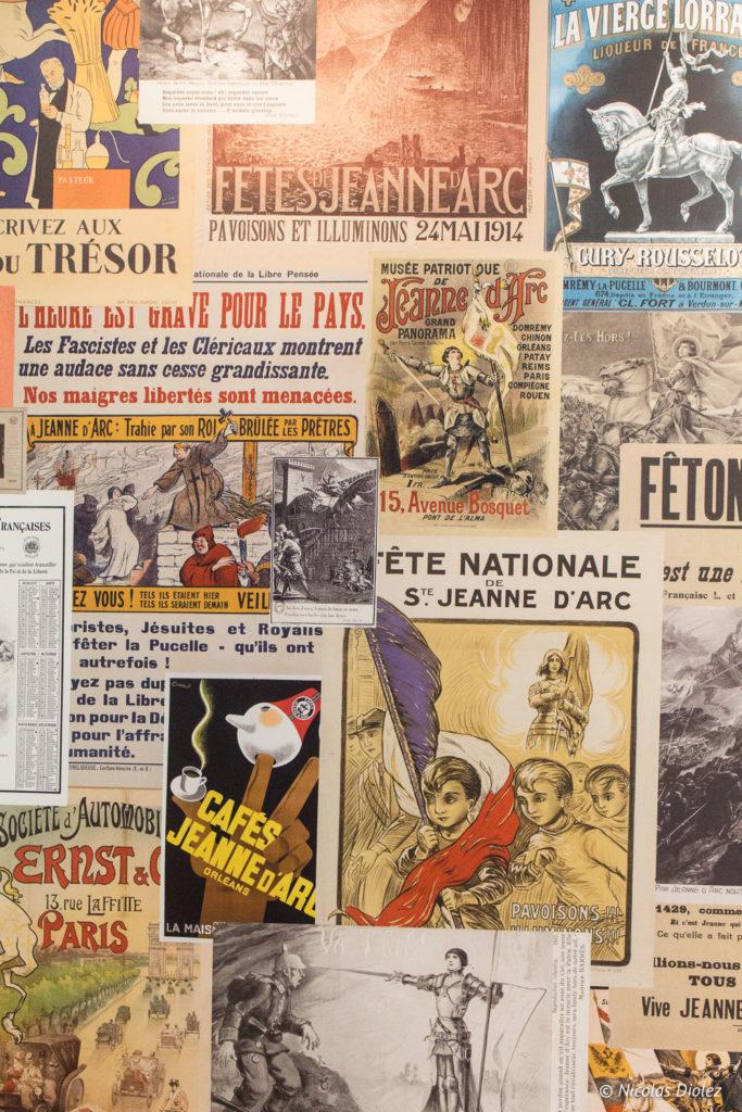 journaux historial de Jeanne d'Arc Rouen
