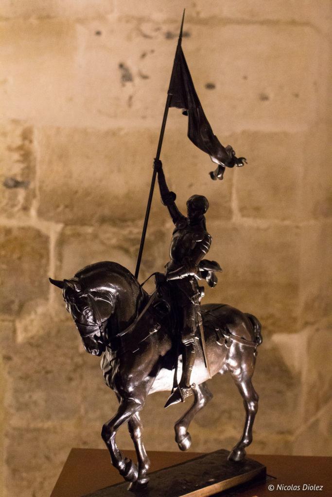 statue historial de Jeanne d'Arc Rouen