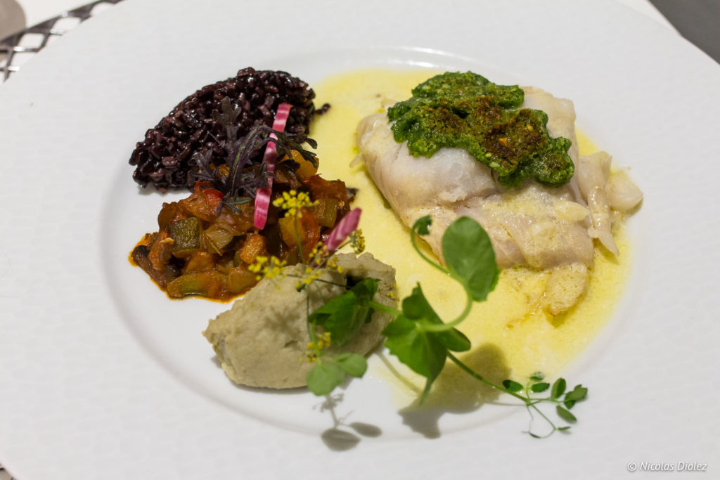 poisson restaurant la Marmite Rouen