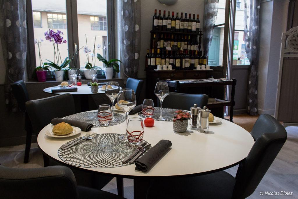 salle restaurant la Marmite Rouen
