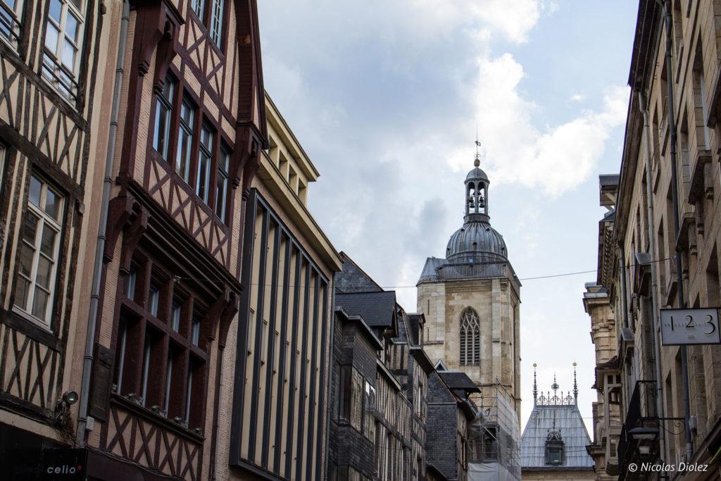 maisons colombages Rouen