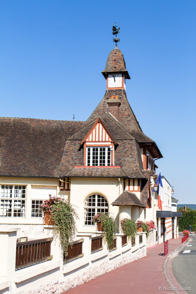 village de La Bouille Normandie