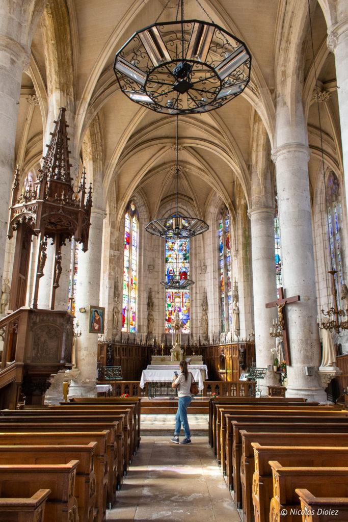 église village de La Bouille Normandie