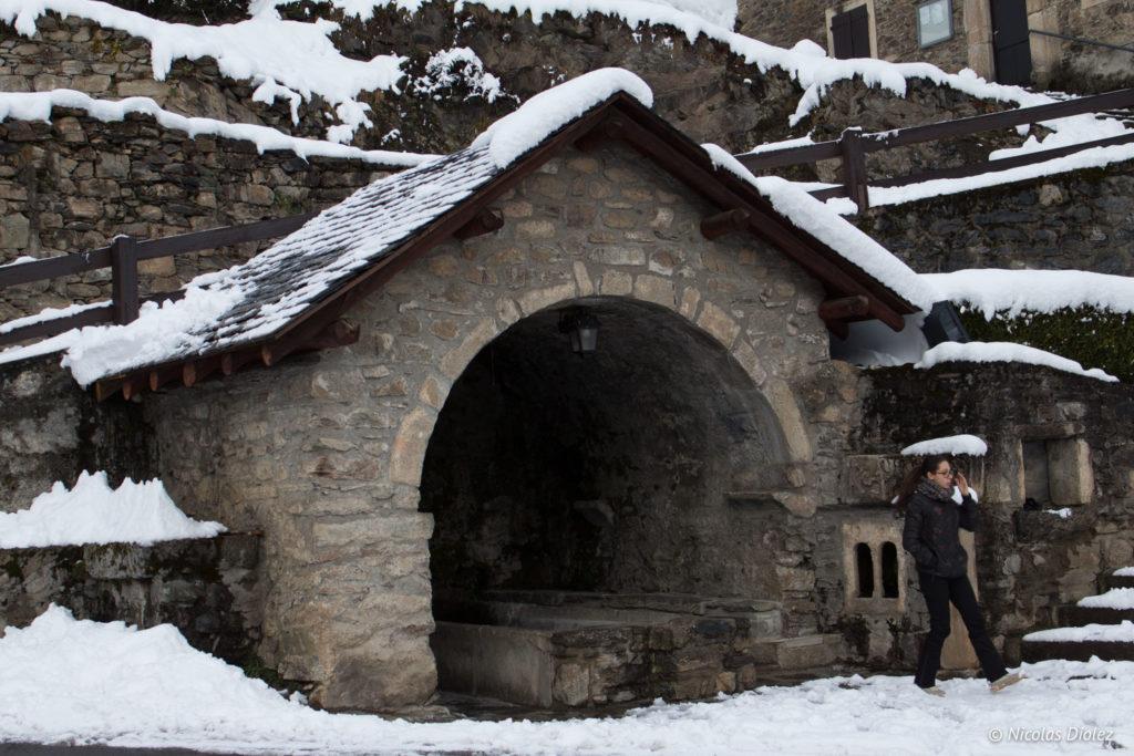 lavoir Saint-Lary Pyrénées