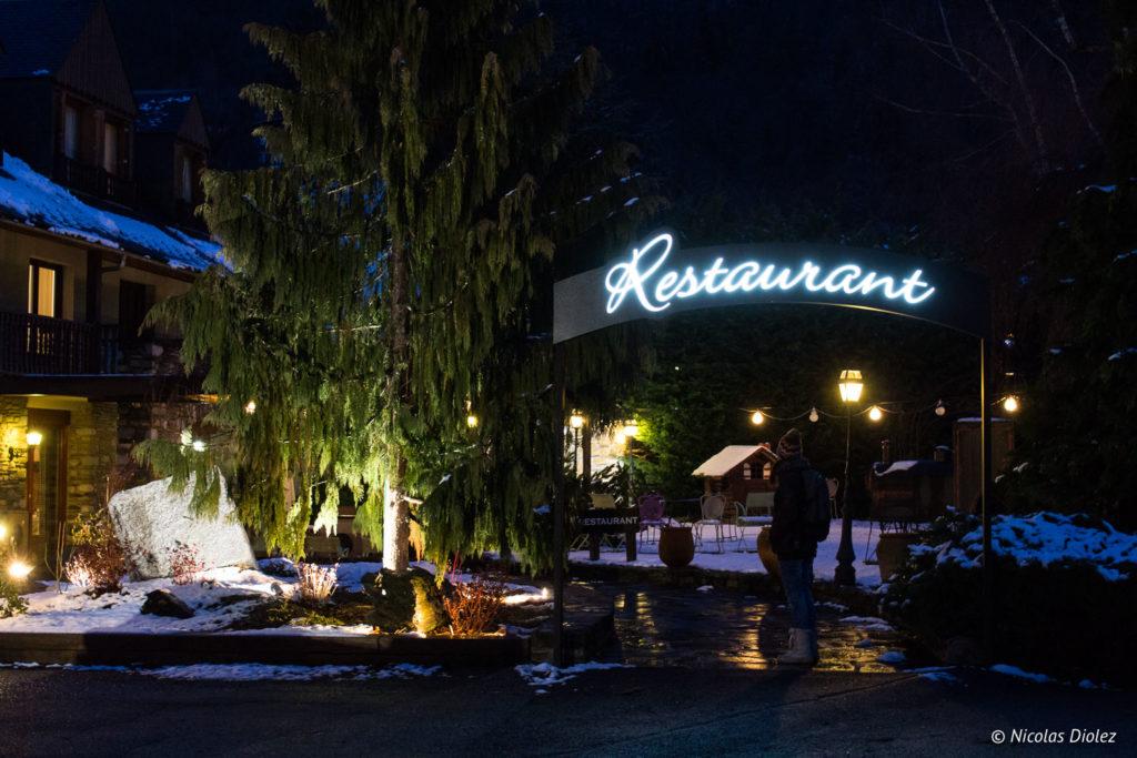 restaurant La Pergola Saint-Lary Pyrénées