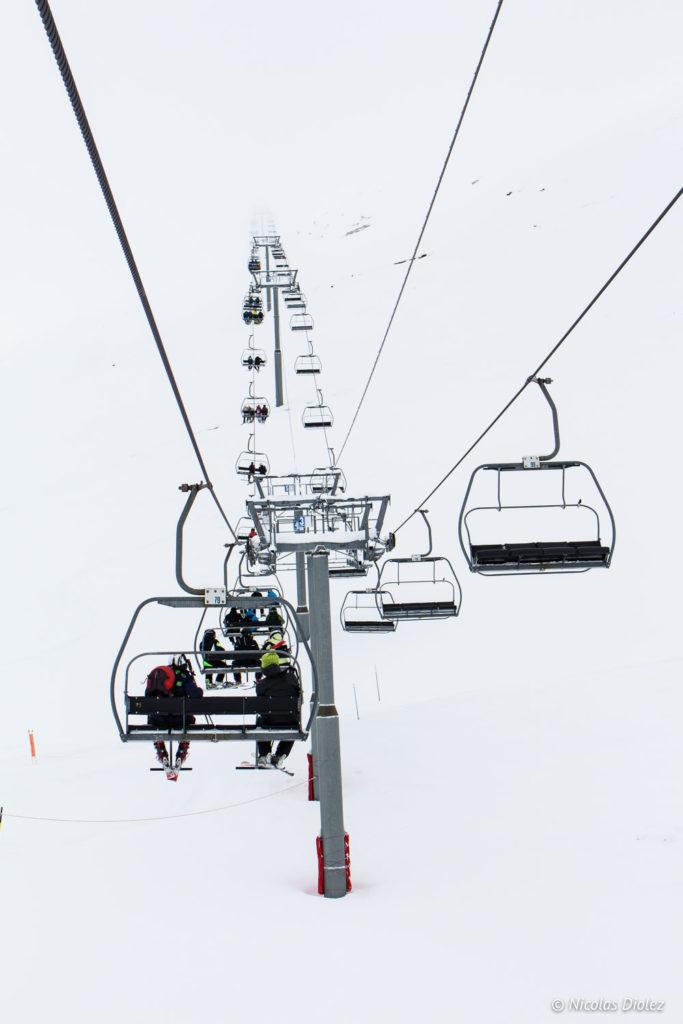 télésiège ski Saint-Lary Pyrénées