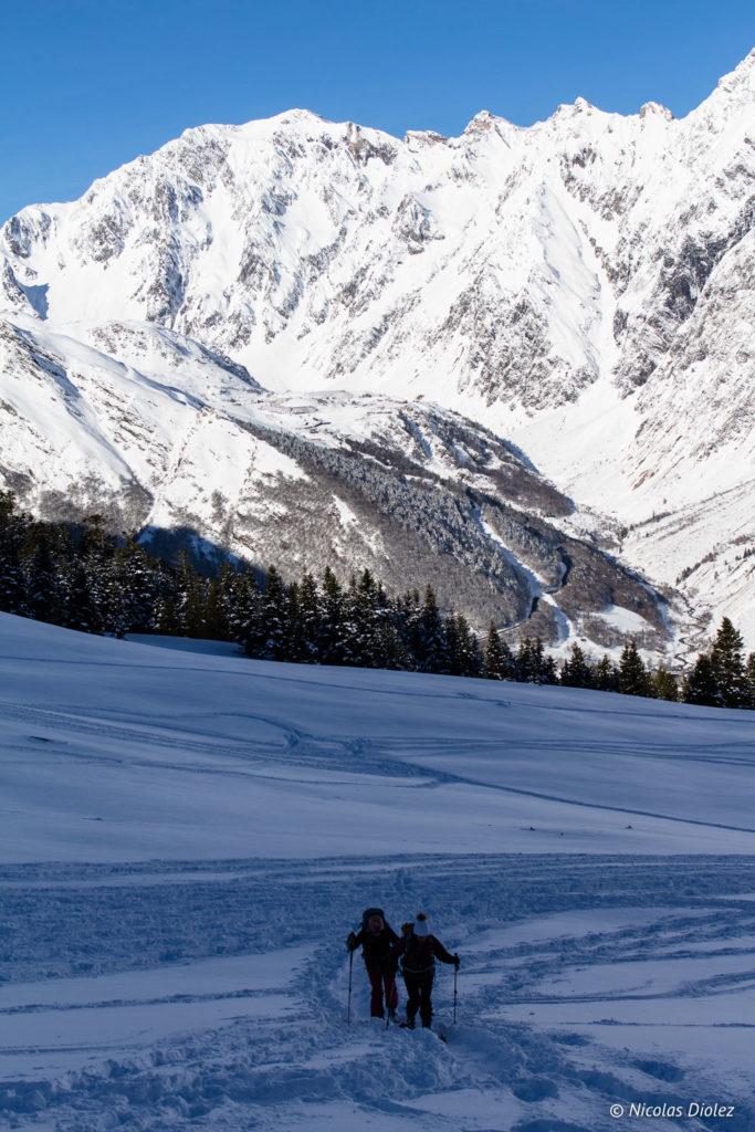 randonnée raquettes Saint-Lary Pyrénées