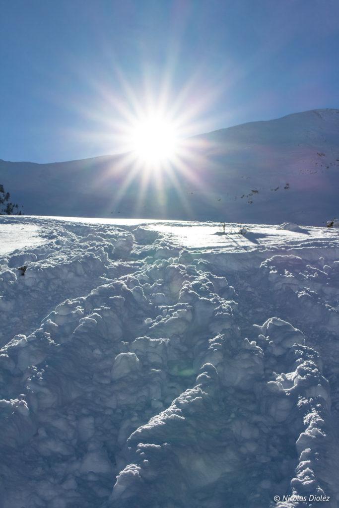 Montagne soleil Saint-Lary Pyrénées