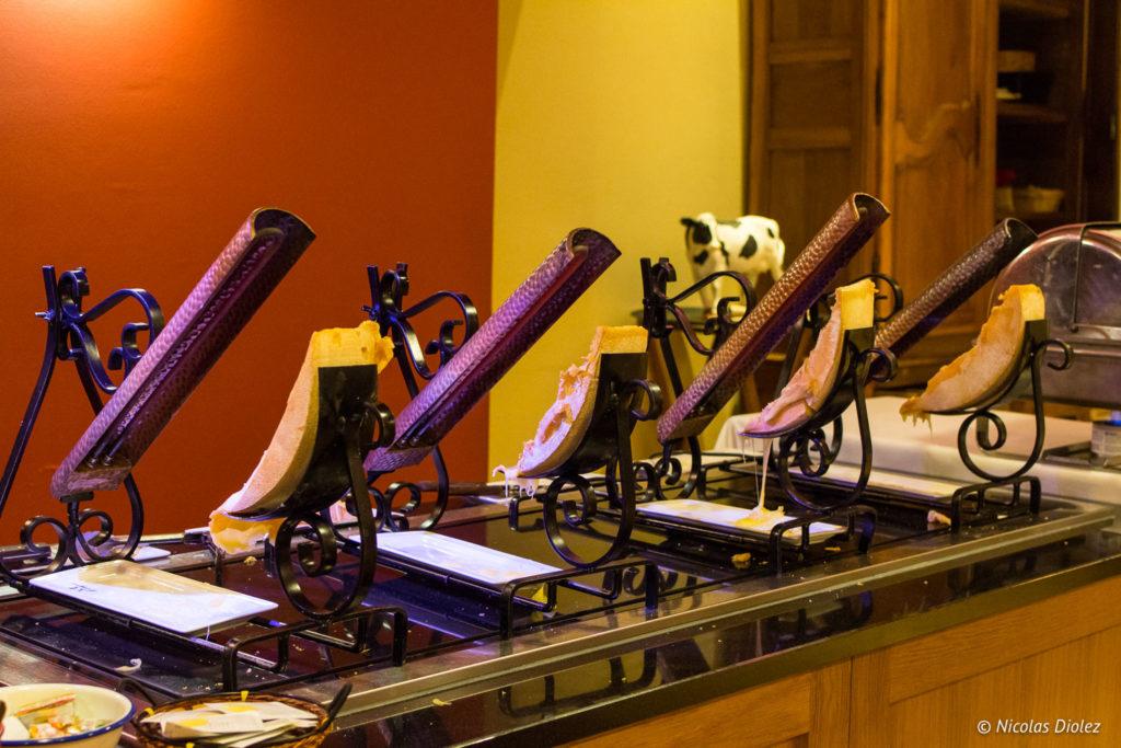 raclette restaurant Hôtel Mercure Saint-Lary Pyrénées