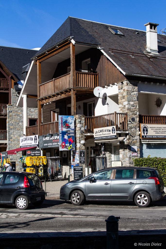 village Saint-Lary Pyrénées