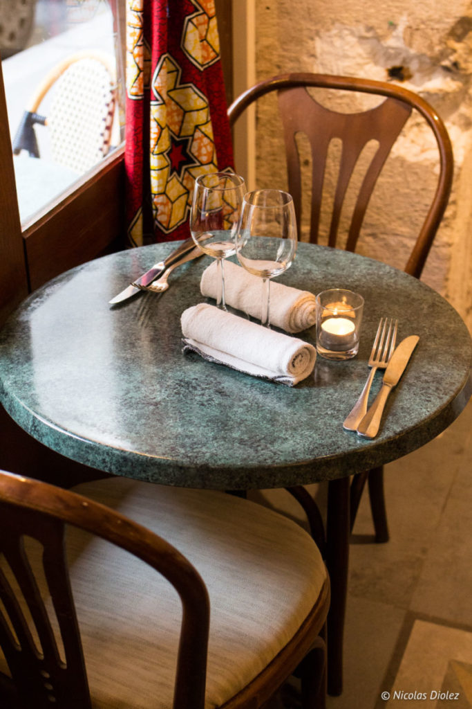 Restaurant Table Metis Paris